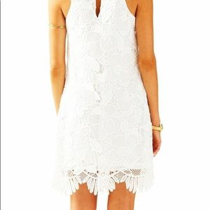 NWT Lilly Pulitzer Lace Scalloped White Dress